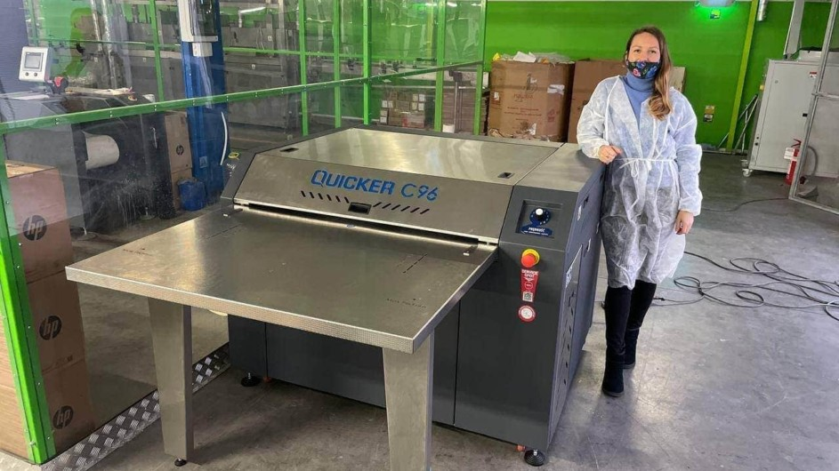 maszyny czyszczące dla drukarni